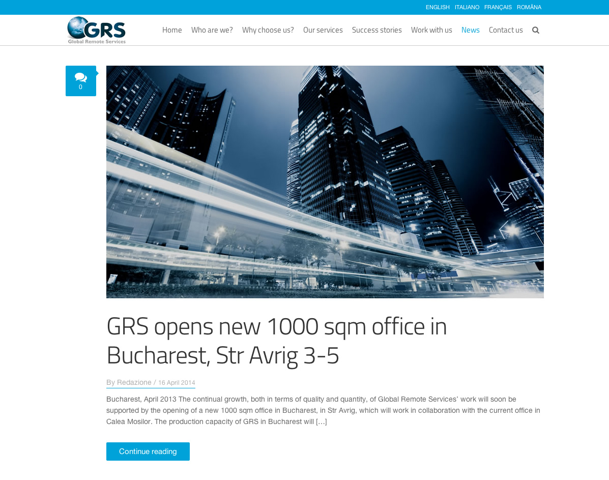 GRS – Global Remote Services